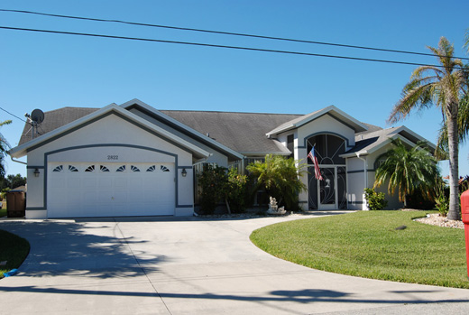 House Waterside cape coral