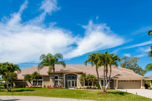 House Souther Comfort Cape Coral Florida