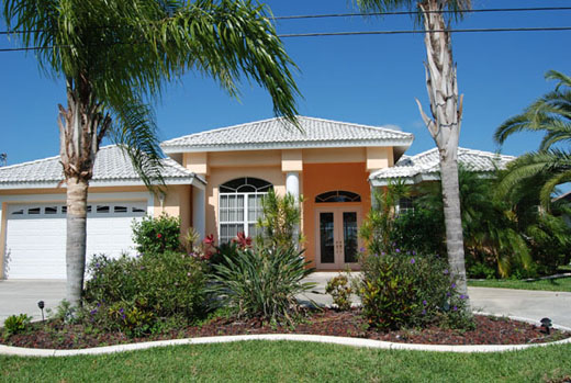 House Sunflower Cape Coral Florida